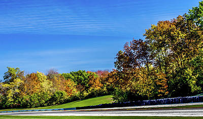 Road America In The Fall Poster