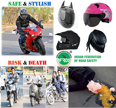Road Safety In India Poster