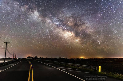 Road To Milky Way Poster
