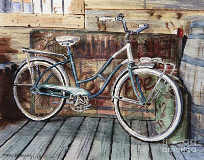 Roadmaster Bicycle Poster by Joey Agbayani