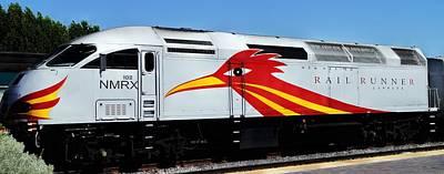 Roadrunner Train Poster by Joseph Frank Baraba