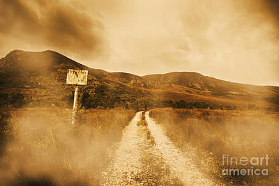 Roads Of No Return Poster by Jorgo Photography - Wall Art Gallery