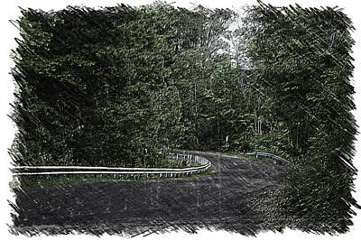 Roadway Fingers Lakes New York Area Pa 02 Poster by Thomas Woolworth