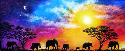 Roaming Skies Poster by Ann Marie Bone
