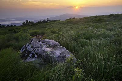 Roan Mountain Highlands Sunrise - Appalachian Trail Scenic Landscape Poster