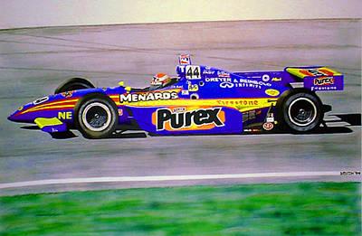 Robbie Buhl - Orlando Indy Car Winner Poster by James Smith