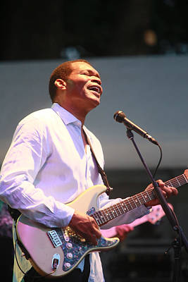 Robert Cray Poster by Rich Tanguay