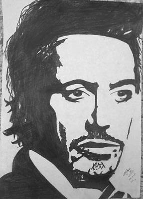 Robert Downey Jr Poster by Zaryab Hassan