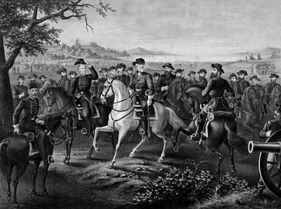 Robert E. Lee And His Generals Poster