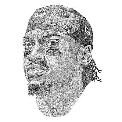 Robert Griffin IIi Poster by Marcus Price