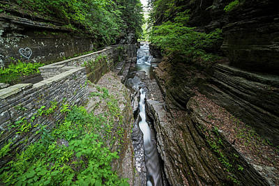 Robert H. Treman State Park Canal Ithaca Ny Poster by Toby McGuire