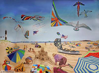 Robert Moses Beach Poster by Bonnie Siracusa