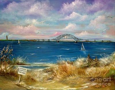 Robert Moses Bridge Poster by Patrice Torrillo