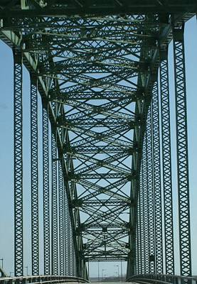 Robert Moses Causeway Bridge Poster by Christopher Kirby