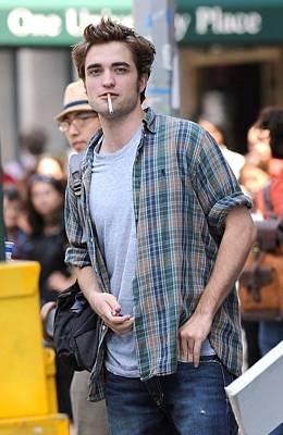 Robert Pattinson On Location For Robert Poster by Everett