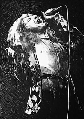 Robert Plant Poster