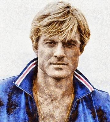 Robert Redford Hollywood Actor Poster