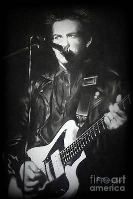 Robert Smith W/ Guitar #2 Poster