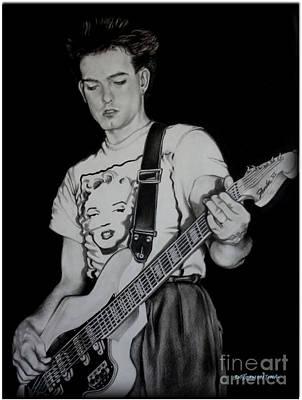 Robert Smith W/ Guitar Poster
