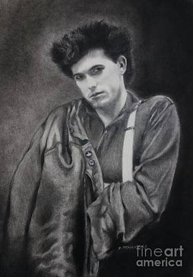 Robert Smith W/ Leather Jacket Poster