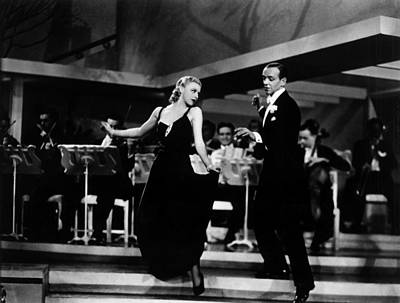 Roberta, Ginger Rogers, Fred Astaire Poster by Everett