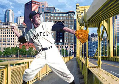 Roberto's Bridge Poster by George Curcio