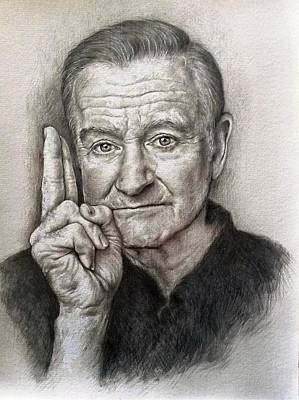 Robin Williams Poster by Tim Thorpe