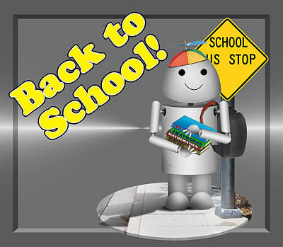 Robo-x9 Back To School Poster