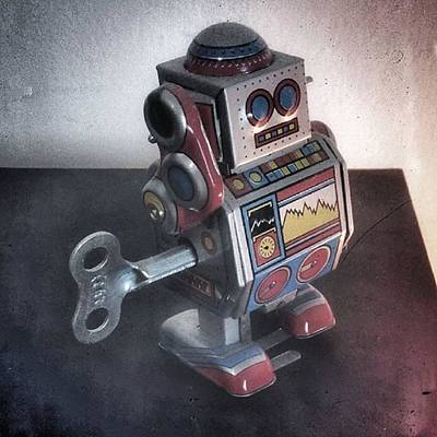 #robot #cyber #cyborg #steampunk Poster