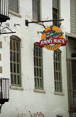 Poster featuring the photograph Rochester, New York - Jimmy Mac's Bar 3 by Frank Romeo