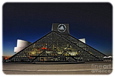 Rock And Roll Hall Of Fame - Cleveland Ohio - 5 Poster