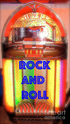 Rock And Roll Jukebox Poster