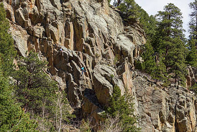 Poster featuring the photograph Rock Climbers Paradise by James BO Insogna