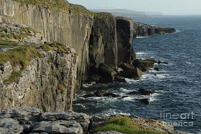 Rock Climbing Burren Poster