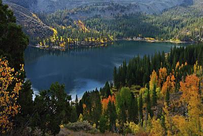 Rock Creek Lake Eastern Sierra Poster