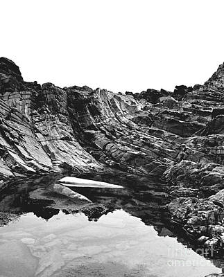 Poster featuring the photograph Rock - Detail by Rebecca Harman