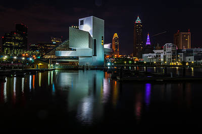 Rock Hall Reflections Poster