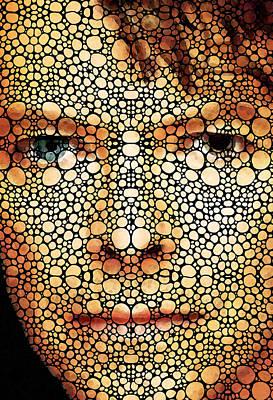 Rock Legend - David Bowie Tribute Poster