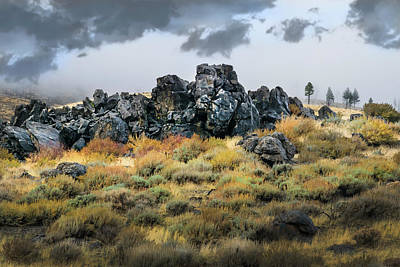 Poster featuring the photograph Rock Outcrop by Frank Wilson