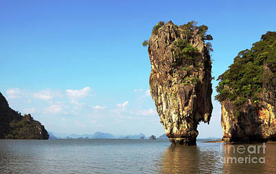 Rock Outcrops In Thailand Poster