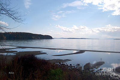 Poster featuring the photograph Rock Point North View Horizontal by Felipe Adan Lerma