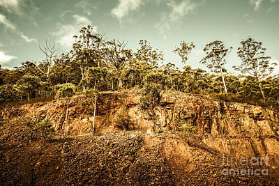 Rock Quarry Landscape Poster by Jorgo Photography - Wall Art Gallery