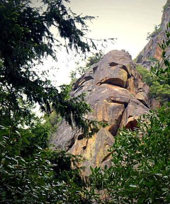 Rock Spirits At Yosemite Poster