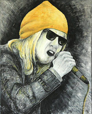 Rock Star Poster by Home Art