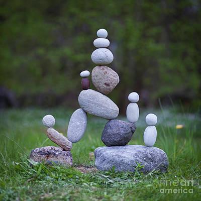 Rock Yoga Poster