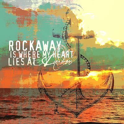 Rockaway Long Island New York Poster by Brandi Fitzgerald