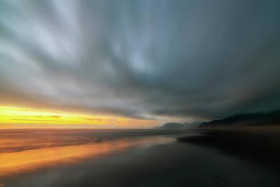 Rockaway Sunset Bliss Poster