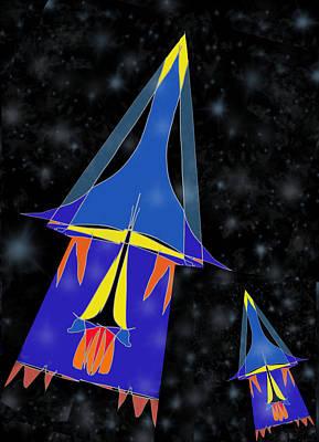 Rocket 2 Poster by Denny Casto