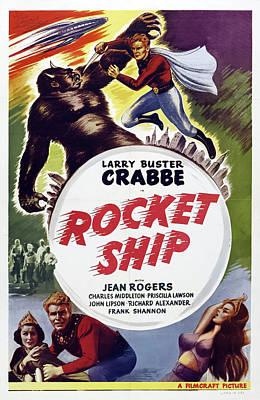 Rocket Ship 1936 Poster