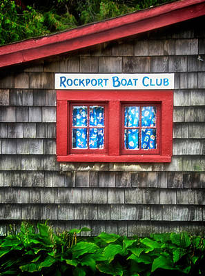 Rockport Boat Club Poster